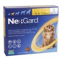 Nexgard Spectra S, 3.5-7 kg, 3 comprimate