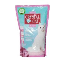 Pachet 3 Buc x Asternut Igienic Crystal Cat Trandafir 1.75 Kg