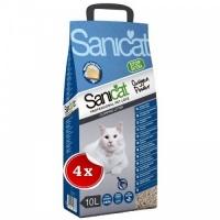Pachet 4 x Asternut Igienic Sanicat Clumping Oxygen Power, 10 L
