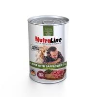 Nutraline Dog Adult Monoprotein cu Miel si Ulei de Sofranel 400 g