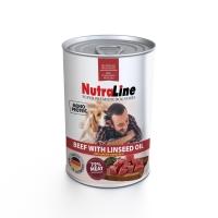 Nutraline Dog Adult Monoprotein Cu Vita Si Ulei De In, 400 g