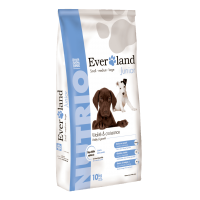 Everland Nutrio Dog Junior cu Rata, 10 kg