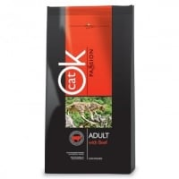 OK Cat Passion Adult Beef 12.5 kg
