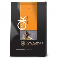 OK Dog Passion Adult Complete Pui, 12.5 kg