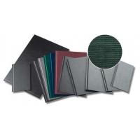Coperti rigide A4, structura panzata, 20 buc/set, Metal-BIND OPUS Classic Slim - albastru