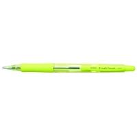 Pix PENAC Sleek Touch, rubber grip, 1.0mm, accesorii verde lime - scriere albastra