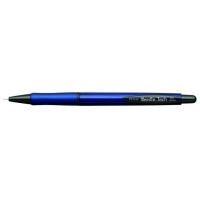 Pix PENAC Needle Tech, rubber grip, 0.5mm, accesorii negre - scriere albastra