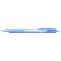 Creion mecanic PENAC Sleek Touch, rubber grip, 0.5mm, varf metalic - accesorii albastru pastel