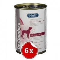 Pachet 6 Conserve Dr. Clauder's Diet Dog Renal, 400 g
