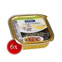 Pachet Dr. Clauder's Cat Alucap Carne De Pui, 6x100 g