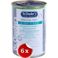Conserve 6 Conserve Dr. Clauder's Diet Dog High Fibre, 400 g