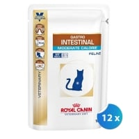 Pachet Royal Canin Gastro Intestinal Cat Moderate Calorie 12 x 100 g