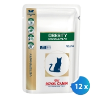 Pachet Royal Canin Obesity Cat 12 x 100 g