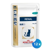 Pachet Royal Canin Felin Renal cu Ton 12 x 85 g