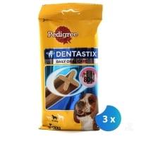 Pachet Pedigree Dentastix Caini Talie Medie x 3 bucati