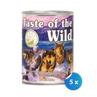 Pachet Conserve Taste of the Wild Wetlands 5 x 390 g