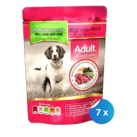 Pachet Plicuri Natures Menu Adult Dog cu Vita si Rumen 7 x 300 g