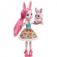 Papusa Enchantimals Bree Bunny