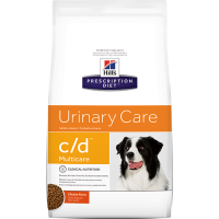 Hill's PD Canine c/d cu Pui, 12 kg