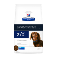Hill's PD Canine z/d Ultra Allergen Free Mini - Alergie la Hrana, 1.5 Kg