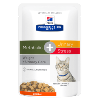 Hill's PD Feline Metabolic+Urinary Stress, 85 g