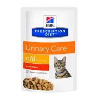 Hill's PD Feline c/d Multicare - Prevenirea Recurentei Struvitilor, 85 g