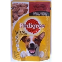 Pedigree Adult cu Vita si Miel in Sos, 100 g