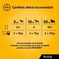 PROMO PEDIGREE Vital Protection, Pui și Legume, hrană umedă câini, (în sos), 100g