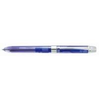 Pix multifunctional cu doua culori / creion mecanic 0.5mm, PENAC ELE 001 in cutie cadou, albastru