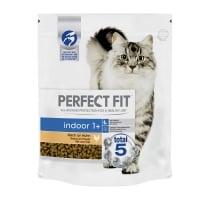 PERFECT FIT Cat Indoor, Pui, hrană uscată pisici, 750g