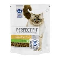 PERFECT FIT Cat Sensitive, Curcan, hrană uscată pisici, sensibilitati digestive, 1.4kg