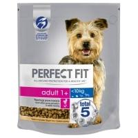 PERFECT FIT Dog Adult Small, Pui, hrană uscată câini, 825g