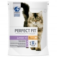 Perfect Fit Cat Junior cu Pui, 190 g