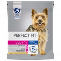 Perfect Fit Dog Adult Small cu Pui, 825 g