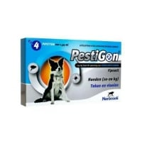 Pestigon Dog M, 10-20 kg, 4 pipete