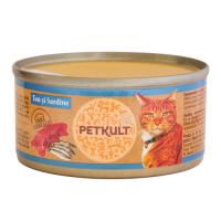 Petkult Cat Grain Free Ton si Sardine 80 g
