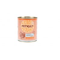 Petkult Adult Dog Sensitive Curcan&Cartofi, 800 g