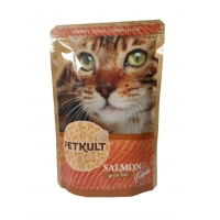 Petkult Cat Adult cu Somon, 100 g