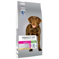 Perfect Fit Dog Adult Medium/Large cu Pui, 14.5 kg