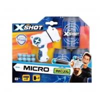 Pistol Micro X-Shot 8 Sageti Si 3 Cutii