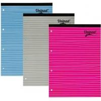 Blocnotes A4, 80 file, 60g/mp, coperti carton, PUKKA Unipad Refill - matematica
