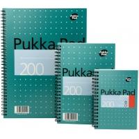 Caiet cu spirala dubla A5, 100 file 80g/mp, coperti carton, Business Metallic - matematica