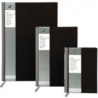 Registru A4, 96 file, 90g/mp, coperti carton rigid, Business Black - dictando