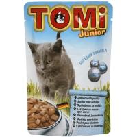 Plic Tomi Cat Junior cu Pui, 100 g