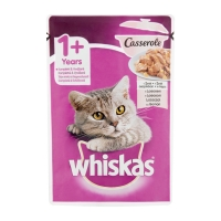 Plic Whiskas Casserole cu Vita 85g