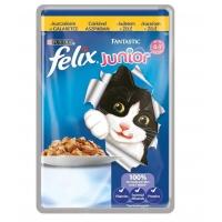 Felix Fantastic Junior cu Pui, Plic Pachet 20 x 100 g