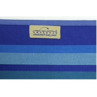 PortBebe Amazonas Carry Sling Carrageen, 450 cm, Albastru