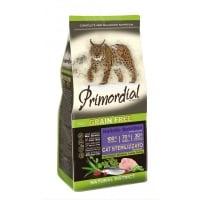 Primordial Holistic Cat Adult Sterilised Curcan si Hering, 6 kg