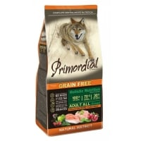 Primordial Holistic Dog Adult Pui si Somon, 12 kg