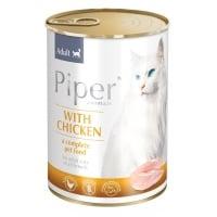 Piper Adult Pisica cu Piept de Pui, 400 g